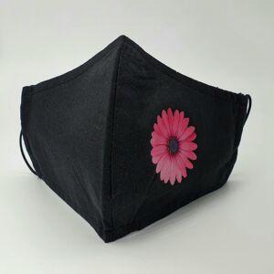 Arcmaszk - Rózsaszín virág