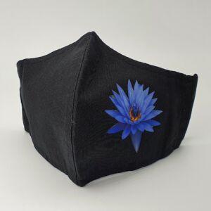 Arcmaszk - Kék virág
